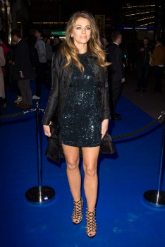 Elizabeth Hurley - Leggy At 'An American in Paris' Press Night in London (3/21/17)