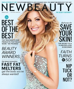 Faith Hill - New Beauty Magazine Spring/Summer 2017