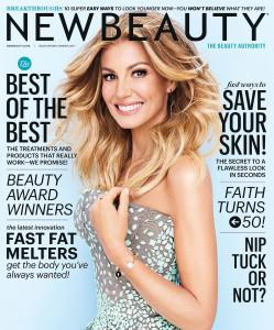 Faith Hill - New Beauty Magazine Spring/Summer 2017