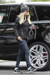Kaley Cuoco - Candids in LA 3/21/17