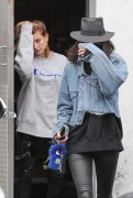 Kendall Jenner & Hailey Baldwin - Leaving a hair salon in West Hollywood 3/21/17