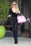 Khloe Kardashian - Leaving E! Studios in LA 3/22/17