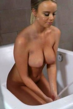Alexis Adams: Shower Creeping Cover