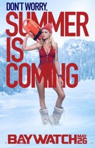 Kelly Rohrbach -                     Baywatch Movie Poster 2017.