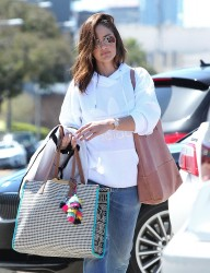 Minka Kelly - Shopping in Beverly Hills 3/22/17