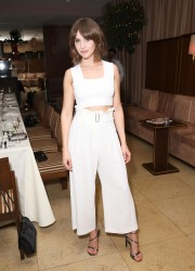 Alison Brie - Cosmopolitan's Dinner for Michele Promaulayko in West Hollywood 3/23/17