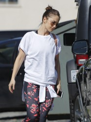 Minka Kelly - Leaving the gym in LA 3/23/17