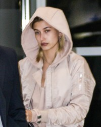 Hailey Baldwin - At JFK Airport 3/25/17