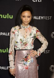 Thandie Newton -                Westworld Panel Discussion Paley Centre Los Angeles March 25th 2017.