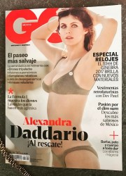 Alexandra Daddario - GQ Mexico April 2017