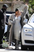 Kim Kardashian - Leaving a studio in LA 3/25/17