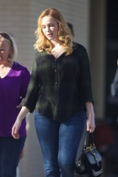 Christina Hendricks - Out in Atlanta 3/26/17
