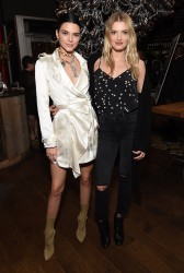 Kendall Jenner & Lily Donaldson - 'Valerian and The City of A Thousand Planets' Trailer Viewing Party in LA 3/27/17