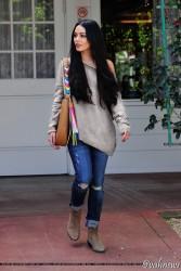 Vanessa Hudgens - Leaving a meeting in Studio City 3/28/17