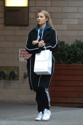 Dianna Agron - Shopping in NYC 3/28/17