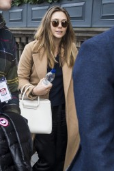 Elizabeth Olsen - Arriving at her hotel in Scotland 3/28/17