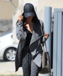 Jenna Dewan Tatum - Going to yoga class in Studio City 3/28/17