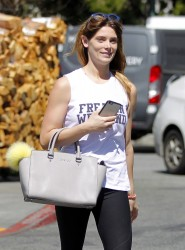 Ashley Greene - Shopping at Bristol Farms in West Hollywood 3/28/17
