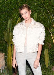 Hailey Baldwin - H&M Conscious Collection Launch in LA 3/28/17