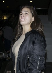 Ashley Graham - At LAX Airport 3/28/17